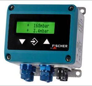 Двухканальный датчик дифференциального давления DE44_LCD